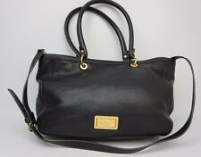 Marc by Marc Jacobs Black Leather Too Hot To Handle Satchel Tote