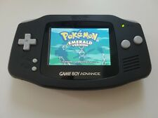 Gameboy Advance GBA Console Black backlight AGS 101 - New Glass Lens