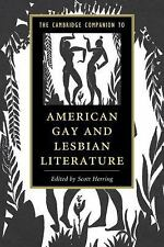The Cambridge Companion to American Gay and Lesbian Literature (Cambri-ExLibrary