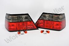 MERCEDES E Class W124 Sedan Coupe Cabrio 85-95 Tail Lights grey Rear Lamps SET