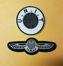 Doctor Who UNIT Patch Set (2)