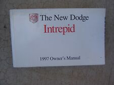 1997 Dodge Intrepid Auto Owner Manual Features Operating Maintenance Car  R