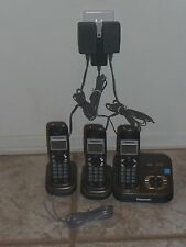 PANASONIC KX-TG9331T Dect6.0 3-Handsets Cordless Phone Answer System & Caller ID