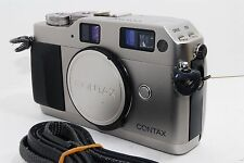 【Excellent+++】Contax G1 35mm Rangefinder Film Camera Body Only From Japan #112