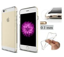 COVER TRASPARENTE ULTRASLIM TPU INVISIBILE SOLO 0.1 mm  PER IPHONE 6 4.7