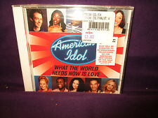 American Idol Finalists 'What The World Needs Now Is Love' SEALED CD