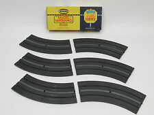 "AURORA MODEL MOTORING BOX OF 12"" 1/8 CURVES ~ NOS ~ SUPER CLEAN ~ RACE READY!! 2"