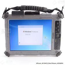 XpLore ix104c5 Rugged Tablet i7-U620 1.07GHz 4GB RAM 80GB SSD Win7 Pro (#334894)