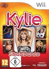 Nintendo Wii Spiel Kylie Sing & and Dance Minogue NEU&OVP
