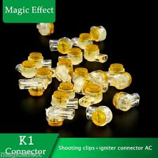 2000pcs/lot K1 connector+For shooting clips+igniter connector AC+Safety Ignition