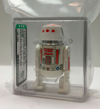 Kenner Star Wars R5-D4 RED BAR RIGHT RECTANGLE AFA 80+ loose vintage RARE!