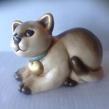 Big Thun Italian Figurine Cat with Heart Bolzano Italy