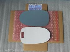 B917L FITS 2000-06 NISSAN SENTRA Mirror Glass +FULL SIZE ADHESIVE Driver Side LH
