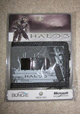 """Halo """"Sniper"""" gray/black BIFOLD WALLET with clip, 1 2 3 4 5 wars reach NEW"""