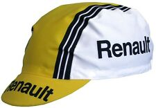 Brand new Team Renault Cycling cap, Italian made Retro fixie