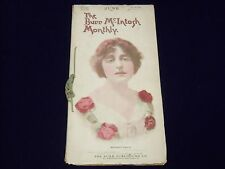 1907 JUNE THE BURR MCINTOSH MONTHLY MAGAZINE - MARGARET ANGLIN COVER - II 2870