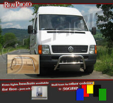 VOLKSWAGEN LT 96-06 BULL BAR WITHOUT AXLE BARS +GRATIS! STAINLESS STEEL!!20