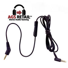 GOLD PLATED AUDIO CABLE for BOSE Quiet Comfort QC3 (On-Ear) HEADPHONES