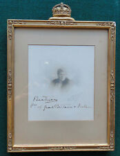 Princess Beatrice Signed Presentation Photo & Frame Daughter Queen Victoria