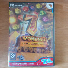 7 Wonders of the Ancient World PC CD-Rom Brand New & Sealed PAL 3+ Puzzle Game