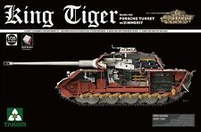 TAKOM 1/35 Sd.Kfz.182 King Tiger Porsche Turret w/ Zimmerit & interior (No.2046)