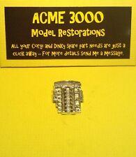 Dinky 110 aston martin DB5 reproduction repro-plastique moteur chrome unité