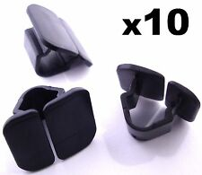 10x Skoda Bonnet Insulation Plastic Clips- Retainers for Hood Sound Deadener