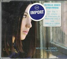 Everywhere [IMPORT] by Michelle Branch (Sep-2001, Wea/Warner) Music CD