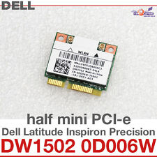 Tarjeta de red inalámbrica Wi-Fi WLAN DELL MINI PCI-E DW1502 0D006W ATHEROS D32