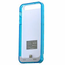 Mota Battery Case for iPhone 5 5s 2400 mAh Clear Frame Phone Charger Case