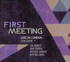 First Meeting: Live in London Vol.1 - Lee Konitz, Michael Janisch, Dan Konitz CD
