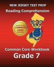 NEW JERSEY TEST PREP READING COMPREHENSION COMMON CORE - NEW PAPERBACK BOOK