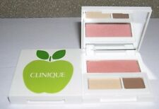 Clinique Eyeshadow~BUTTER PECAN~Blush~SUNSET GLOW~Green Apple Travel Size