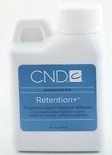 CND Retention+ Sculpting Liquid 4oz / 118 mL Superior Adhesion to Natural Nail