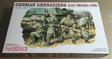 DRAGON 6057 - 1/35 - GERMAN GRENADIERS (EAST PRUSSIA 1945) - NUOVO