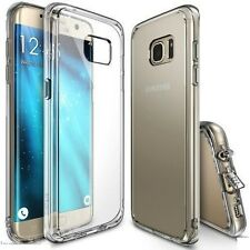 Galaxy S7 Edge Ultra Hybrid AIR CUSHION Clear back + TPU bumper case