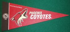 PHOENIX COYOTES NHL MINI PENNANT, NEW & MADE IN USA