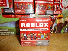 2017 Series 1 ROBLOX 1 Blind Pack Collectible Mini Figures Virtual Game Code