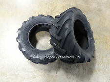 TWO New Deestone 23X10.50-12 Tractor Lug  Tires 6 ply with Free Stems
