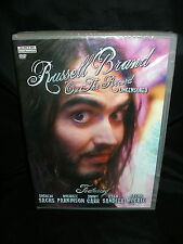 RUSSELL BRAND - 'ON THE RECORD' - UNCENSORED DVD NEW BUY NOW 99p LOW UK P&P!