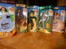 MATTEL Zauberer/ Wizard of Oz 5 Figuren Collector Edition / Barbie as Dorothy