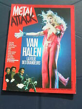 Metal Attack 20 1985 CHEAP TRICK SATAN JOKERS RODS VAN HALEN ZZ TOP RAMONES FIRM