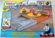 Salty's Flip & switch Tracks  Thomas & Friends The Train: Take-n-Play * FP BCX19