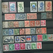 #297 France and colonies mixed postal stamps from collection