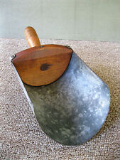Antique Scoop Grain Seed #3 Wood Tin Vintage Primitive Country Store Barn