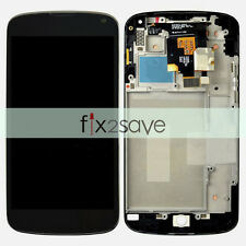 LCD Display Touch Screen Digitizer Assembly + Frame For LG Google Nexus 4 E960
