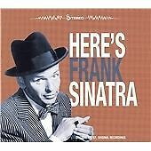 Frank Sinatra - Here's Frank Sinatra (2012)  CD  NEW/SEALED  SPEEDYPOST