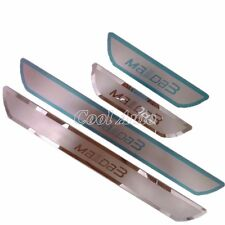 For 2014 2015 Mazda 3 Ultra-thin Stainless Steel Scuff Plate Door Sill Protector
