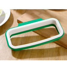 KITCHEN CUPBOARD HANGING STORAGE RUBBISH WASTE PLASTIC BIN BAG CARRIER HOLDER
