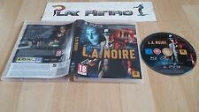 PLAY STATION 3 PS3 L.A. NOIRE SIN MANUAL PAL ESPAÑA